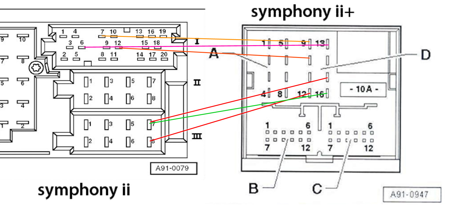 Symphony Ii Won't Power Up Audiworld Forums Audi Symphony Wire Diagram Audi  Symphony Wire Diagram